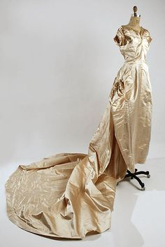 Wedding Ensemble, circa 1950, Henri Bendel, American