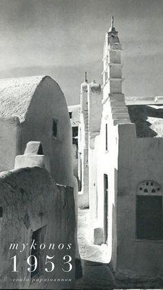 The Island of Andros - Melissesandros Mykonos Island, Mykonos Greece, Athens Greece, Santorini, Greece Pictures, Old Pictures, Travel Pictures, Myconos, Old Time Photos