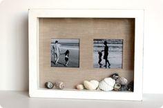 Beach Shadow Box Frame Project