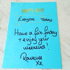 Today is Friday & the sun is shining. 'nuff said... #fridayfeeling #friday #happyfriday #happy #happynote #weekend #rosyrosiedaytoday