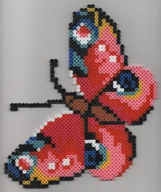 grand papillon hama beads by florimence