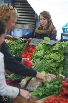 hitting the healthy farmers markets ♥