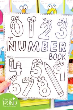 Number Poem Posters Number Poem Posters and activity book - perfect for back to school Learning Numbers Preschool, Teaching Numbers, Numbers Kindergarten, Writing Numbers, Preschool Printables, Preschool Classroom, Classroom Activities, Book Activities, Preschool Number Activities