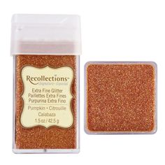 Recollections Signature Extra Fine Glitter, 1.5 oz. Pumpkin