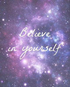 Believe in yourself  digital printable by LouiseMcCairns on Etsy