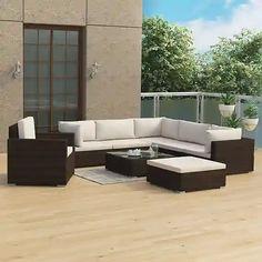 Záhradné sety – až 1067 záhradných sedačiek a zostáv pre vás | Biano Parasol Mural, Grand Parasol, Outdoor Sectional, Sectional Sofa, Ensemble Patio, Outdoor Furniture Sets, Outdoor Decor, Home Decor, Ebay