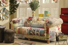 From my line/collection with Creative Co-op. Artful home decor. the couch!