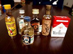 テキーラのミニボトルはコレクションしたくなるかわいさ。