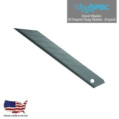 Excel Blades 30 degree Vinyl Spec- Vinyl Wrap Supplier and distributor of tools and aftercare products
