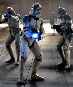 """Legión 501 o el """"Puño de Vader"""""""