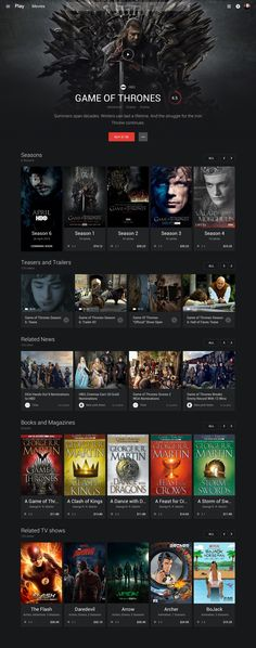 Google - Play Movies – MaterialUp