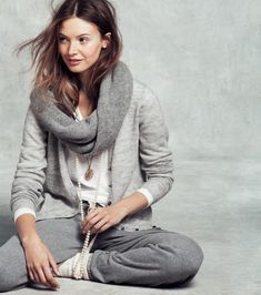 Mona Johannesson J. Crew Holiday 2011 | website