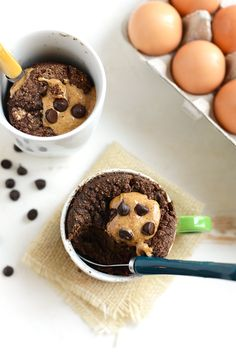 Whip up this easy coconut flour mug cake for dessert in just a couple of minutes. It's paleo, grain-free, and refined sugar-free!