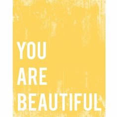 Given Goods Company | You Are Beautiful by Fresh Words Market | The marketplace for products that give back