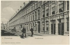 Our street in 1905