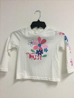 Daisy glitter L/S top  #03210 $10