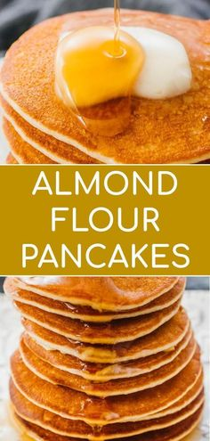 Learn how to make these easy silver dollar pancakes with almond flour! Just 5 in. Low Carb Lunch, Low Carb Breakfast, Breakfast Recipes, Breakfast Ideas, Pancake Recipes, Almond Recipes, Keto Recipes, Healthy Recipes, Silver Dollar Pancakes