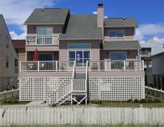 Beautiful Luxury Oceanfront Rental Home - Fireplace. - HomeAway - Cherry Grove Beach House Rental - North Myrtle Beach Rental - 4 Bedrooms 4 Full Baths W/ Bedroom Loft Myrtle Beach House Rentals, Home Fireplace, Bedroom Loft, Rental Property, Cherry, South Carolina, Baths, Luxury, Bedrooms