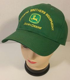 John Deere Green Snapback Baseball Cap Hat OTTO Postestion Brothers Equipment #Otto