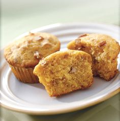 Tis the season for all things pumpkin. Bake up a batch of Pumpkin-Chia Seed Muffins for breakfast. They're sweetened with maple syrup and spiced like your favorite pumpkin pie. Why not add a few toasted pumpkin seeds for extra crunch?