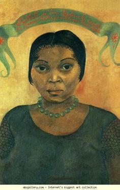 Retrato de Eva Frederick.
