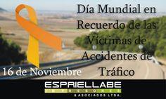 La Asamblea General de las Naciones Unidas 2005 proclamó el tercer domingo de noviembre de cada año como Día Mundial en recuerdo de las víctimas de accidentes de tránsito,en homenaje de las personas víctimas y reconocimiento de los sufrimientos de sus familias y de sus amigos.
