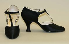 Shoes  Date: 1920s Culture: French