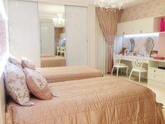 18 quartos para irm os assinados por profissionais do casapro home interior design. Black Bedroom Furniture Sets. Home Design Ideas