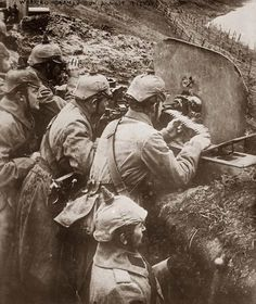German Trenches, World War I