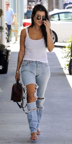 Kourtney Kardashian's Best Street Style Looks - May 2, 2017 from InStyle.com