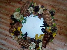 korpus, šišky, bělené šišky, bukvice, žaludy, listí