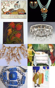 Art in Jewelry by Elizabeth A. on Etsy--Pinned with TreasuryPin.com