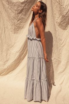 Cute Summer Dresses, Pretty Dresses, Sexy Dresses, Summertime Outfits, Boho Fashion, Fashion Outfits, Vestido Casual, Creation Couture, Maxi Dresses