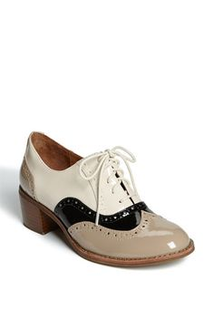 2012 Spring shoes I'll wear - Jeffrey Campbell oxford