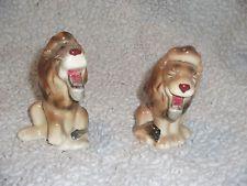 Vintage Norcrest Whisker Lion Salt and Pepper Shaker Set Rare