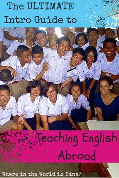 It's no secret that teaching English abroad is a ticket to traveling and living a life abroad. Get all your answers right here. This is the ultimate intro guide to teaching English abroad.