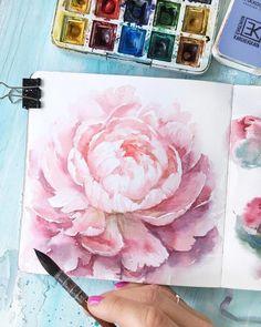 Watercolorist: @ihappygirl #waterblog #акварель #aquarelle #drawing #art #artist #artwork #painting #illustration #watercolor #aquarela