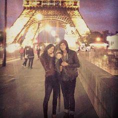 Kellin, Katelynne, and Copeland in Paris