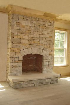 stacked stone fireplace pictures | Recent Photos The Commons Getty Collection Galleries World Map App ...