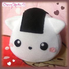 onigiri kitty plushie