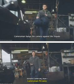 Jensen is Dean Winchester | Supernatural