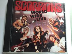 Scorpions World Wide live CD for sale $3-$5 in Vancouver BC on the PeerRenters app download on the app store.