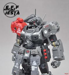 GUNDAM GUY: MG 1/100 RGM-96X Jesta On-Rush Type - Custom Build
