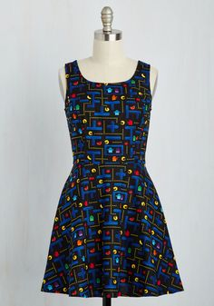 Name of the Gamer Dress, @ModCloth