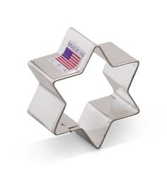 Ann Clark Star of David Cookie Cutter - 2 Inches - Tin Plated Steel * Unbelievable product is here! : Baking Accessories