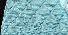 I think it's perfect for a cozy baby blanket.  Skill Level: Easy. Just knit (K) and purl (P)  Materials used  Yarn: Cotton Ice.  Needle...
