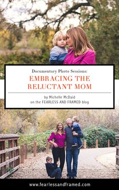 Documentary Photo Sessions: Embracing the Reluctant Mom
