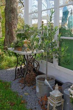 decoraciones de jardín de estilo vintage