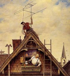 another wonderful Norman Rockwell