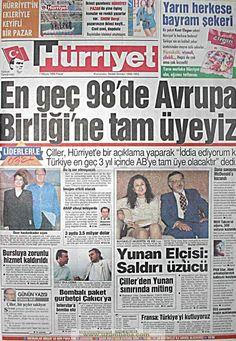 Hürriyet gazetesi 7 mayıs 1995